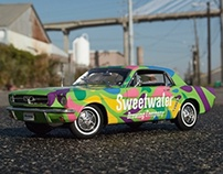 Sweet Water 420 car wrap project
