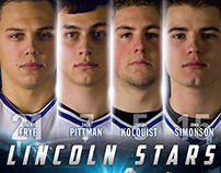 Lincoln Stars - 2013-14 Captains Poster