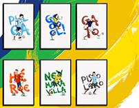 Stars of World Cup / Estrellas del Mundial Brasil 2014