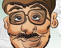 Caricatura - Ilustración - Digital - Cubanito