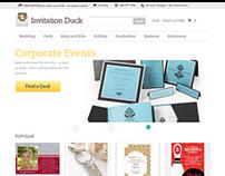 Invitation Duck Launch