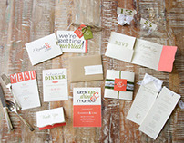 Senior Project: Wedding Stationery Suite