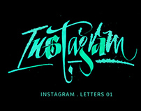 INSTAGRAM Letters 01