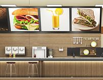 Cafeteria - Ambiente 3D