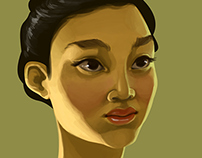 Fictional girls Portraits