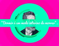 Citações Motion Graphic // Machado de Assis