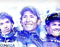 Colombianos en el Giro de Italia