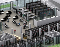 Biblioteca de Navarra - Library of Navarra (3D)