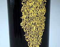 Black Beerd Brew Label Design