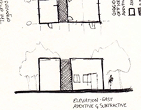 ARCH 330 - Sketches of Riggio-Lynch Chapel