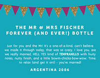 Wedding Weekend Wine Labels