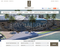 Nikki Beach Hotel and Resort Website