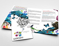 Wacom Brochure Design