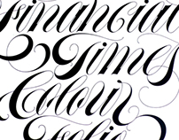 Copperplate scripts 1980—1985