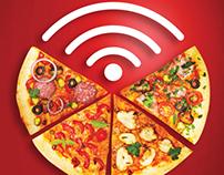 Pizza Fusion online campaign