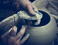 Working It! Greenware Pottery