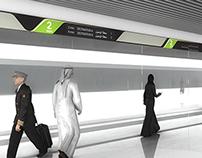 Design for Ryhad Metro