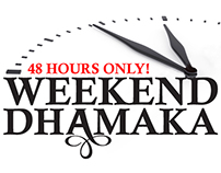 E-mail promotion - Weekend Sale