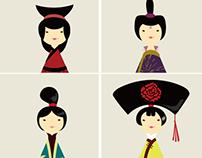 Chinese Festival Girl