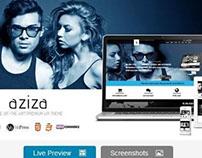 Aziza - Responsive Multipurpose WordPress Theme
