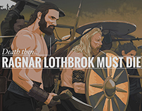 Ragnar Lothbrok Must DIe  /  Vikings Season 2