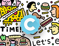 Cabin App - Stickers