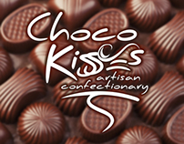 Choco Kisses - Visual Identity Design