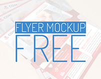 Free Flyer Mockup Download