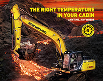 New Holland Construction Cabin Campaign