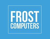 FROST COMPUTERS - LOGO DESING