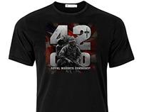 UK mil t-shirt