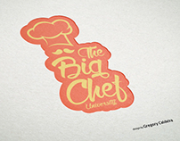 The Big Chef University Logo Mokup