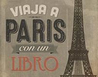 Viaja a París con un libro