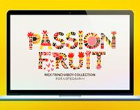 """""""Passion Fruit"""" Mek Frinchaboy alphabet for Notegraphy"""