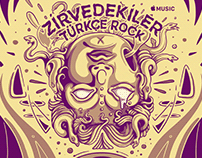 APPLE MUSIC / Zirvedekiler Cover