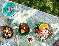Koncept och design kampanj - Larsa Foods