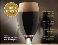 Small Batch Brewing & Distilling - Magazine Design