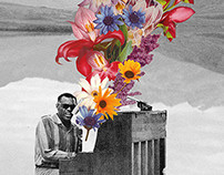 Ray Charles | Natural Selection | Event Poster - May