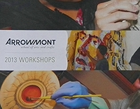 Arrowmont Catalog Cover Illustrations 2013 & 2016