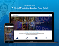 Lean UX – A Digital Marketing Landing Page Build