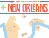 """Best Neighborhoods"" Infographics for Marriott Traveler"