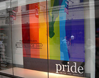 Macy's Celebrates Pride Window Display
