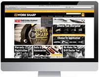 Web Redesign: WorkSharpTools.com