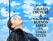 Flyer / GALAXIA COUTURE + SAGRADA BUENOS AIRES
