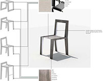 Furniture Design - Range of Chairs and stools