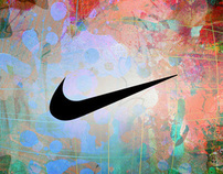 Nike Paint Explosion