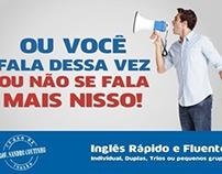 Folder - Sandro Coutinho Cursos de Inglês