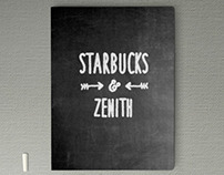 Starbucks Chalkboard-Themed Presentation