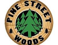 Pine Street Woods Logo Design