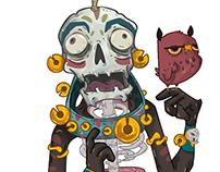 Teokali Characters